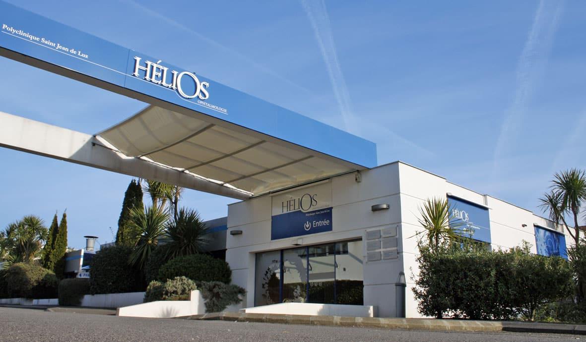 Entrée Hélios Ophtalmologie Saint-Jean-de-Luz